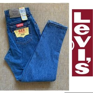 Vintage Levi's 622 NWT Jeans MOM jeans  Tapered 8